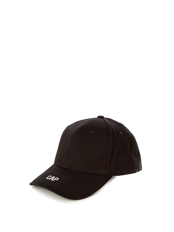 VETEMENTS  Embroidered cap €203 (+rouge)