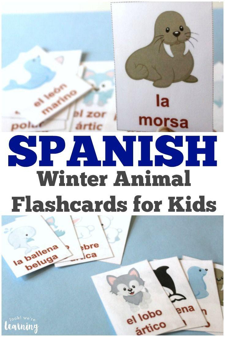 Spanish Matching Game: Animals - 123TeachMe.com