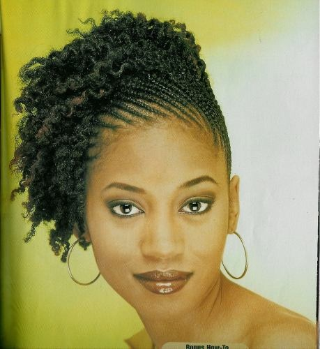 Prep: Damage Control Style: Retexturizing Creme Finish: Brilliance Hairspray Tail comb for partings. Rubber bands for the ends of the braids.  braid all the way to the end of hair, let dry. Take braids out up to scalp. Secure with back combing or rubber bands
