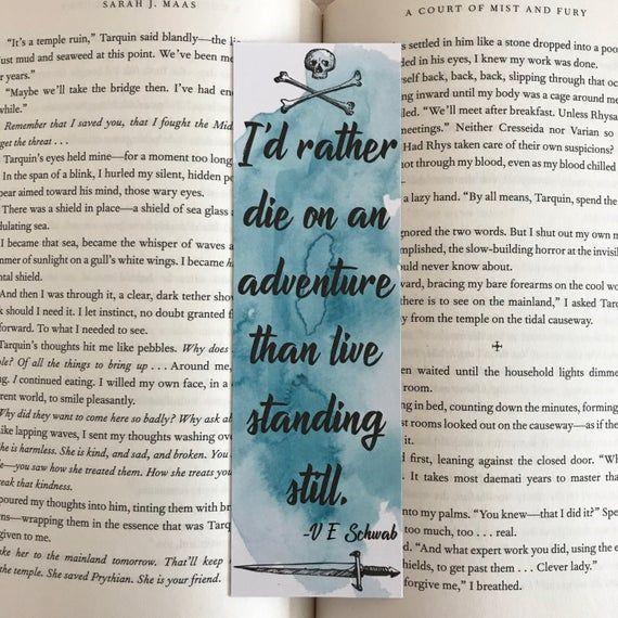 Delilah Bard Bookmark A Darker Shade Of Magic Bookmark Red London Bookmark Ve Schwab Bookmark Ke A Darker Shade Of Magic Bard Bookmark Printing
