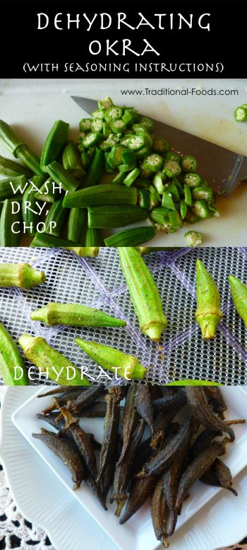 Seasoned Okra Snack    2 pounds young okra  1 T. Paprika  1 T. Salt  1 T. Garlic Powder  1/2 T. Black Pepper  1/2 T. Onion Powder  1/2 T. Cayenne Pepper  1/2 T. Dried Leaf Oregano  1/2 T. Dried Thyme  2-3 tablespoon olive oil