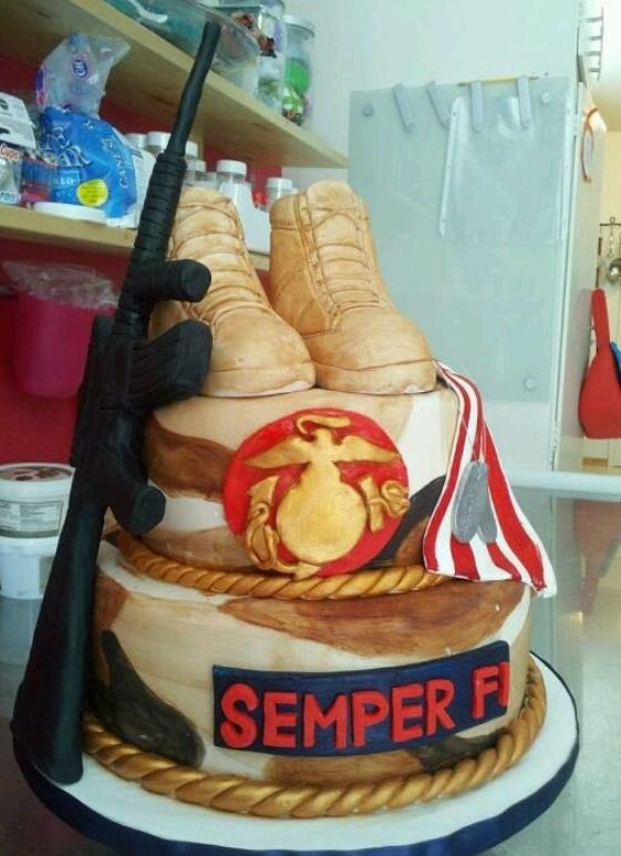 2425 best MILITARY CAKES all branches baby photos and various