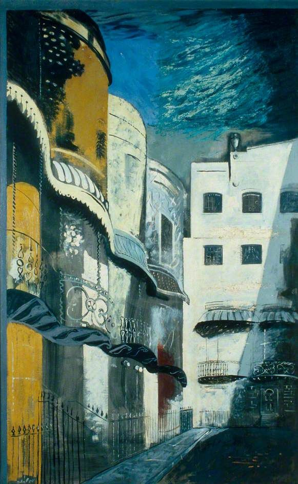 Brighton, Regency Square  by John Piper  Government Art Collection        Date painted: 1949