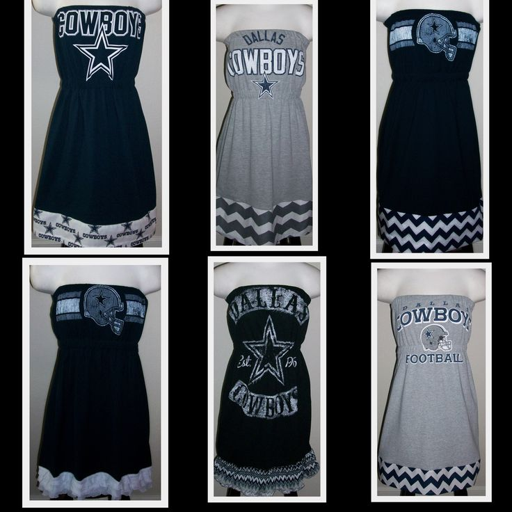 Dallas Cowboys Game Day Tee Shirt Dresses $55