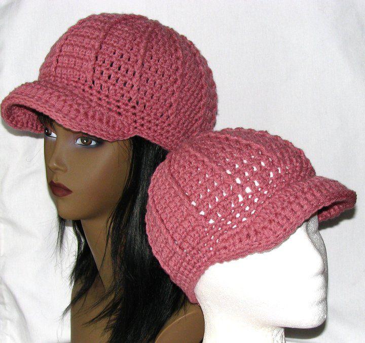 Free Crochet Pattern Newsboy Style Cap : 365 Crochet: Newsboy Beanie Hat Free Crochet Pattern ...