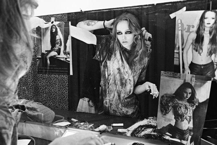 Steven Klein - Photographer  Carine Roitfeld - Editor  Ward Stegerhoek - Hair Stylist  Kabuki - Makeup Artist  Andrea Stanley - Set Designer  Naomi Yasuda - Manicurist  Lily Rose Depp - Model