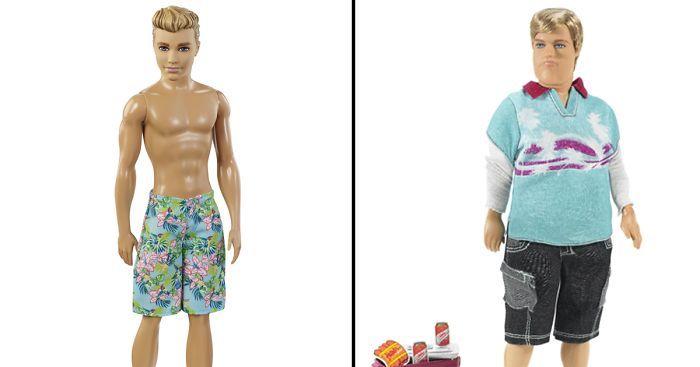 Meet  Realistic Barbie's Boyfriend – Dad Bod Ken | Bored Panda