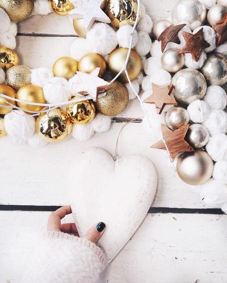 www.joliesse.ru вдохновение сердце гирлянда венок новый год новогоднее украшение