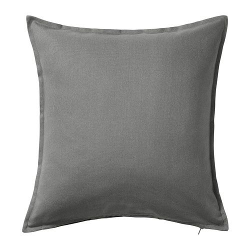 IKEA - GURLI, Cushion cover, The zipper makes the cover easy to remove.Choose between a feather- or polyester-filled inner cushion. 3.99