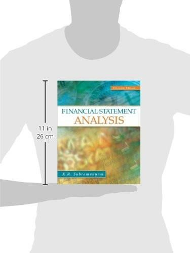 Financial Statement Analysis (Irwin Accounting)