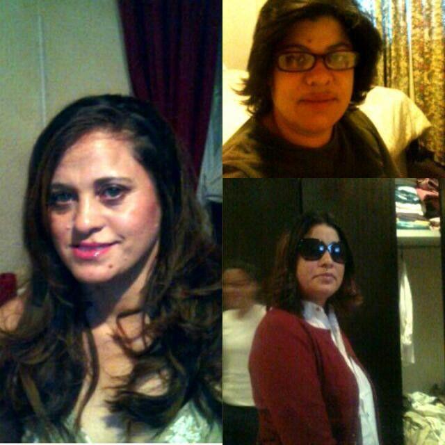 My beautiful cousins - Sandy, Nawaal, Nuraan
