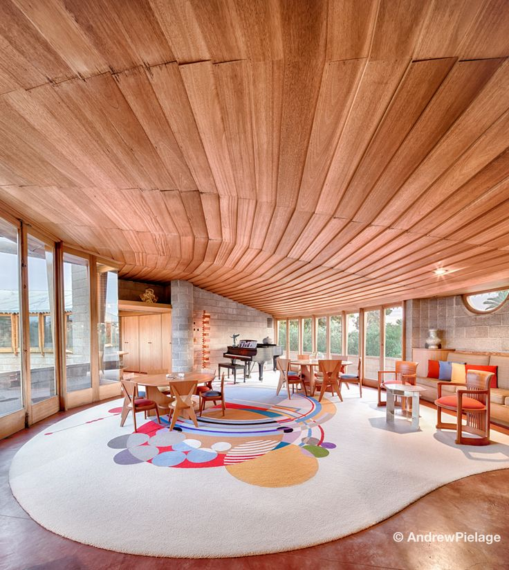 Andrew Pielage photographed his first Frank Lloyd Wright property about  five years ago. He took