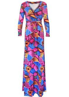 U neck maxi dress on sale