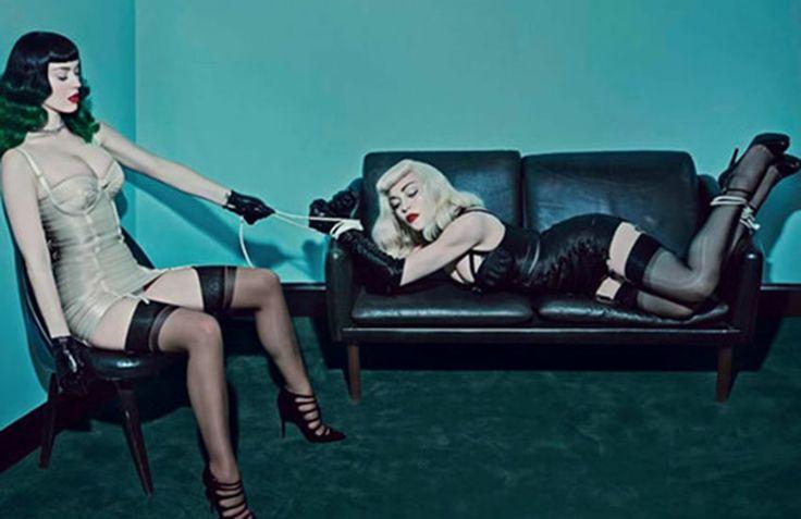 Madonna et Katy Perry ensemble dans un magazine