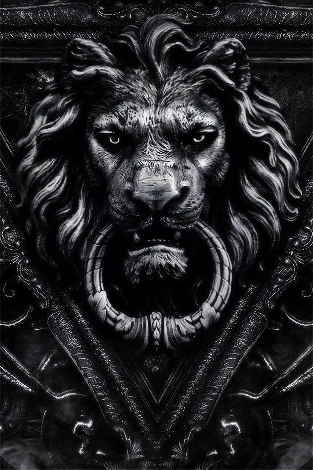 25 best ideas about lion door knocker on pinterest black lion door knockers and black - Lion face door knocker ...