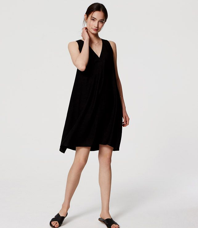 Primary Image of Sleeveless Swing Dress