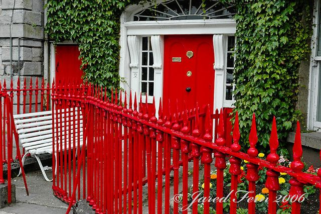 123 best images about colour at home red on pinterest for Westport ireland real estate