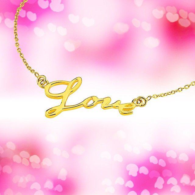 Love-halsband   Guldfynd by Molly
