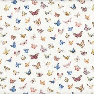 http://www.plushaddict.co.uk/makower-summer-garden-butterflies-cream.html Makower - Summer Garden Butterflies Cream