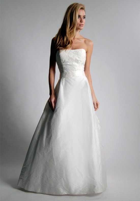 Elizabeth St. John Alden A-Line Wedding Dress