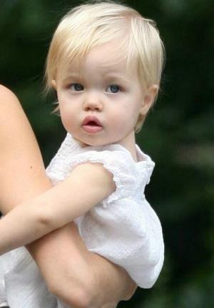 Shiloh Jolie-Pitt. Gorgeous baby!