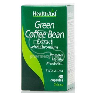 HEALTH AID -  Green Coffee Bean Extract - 60caps