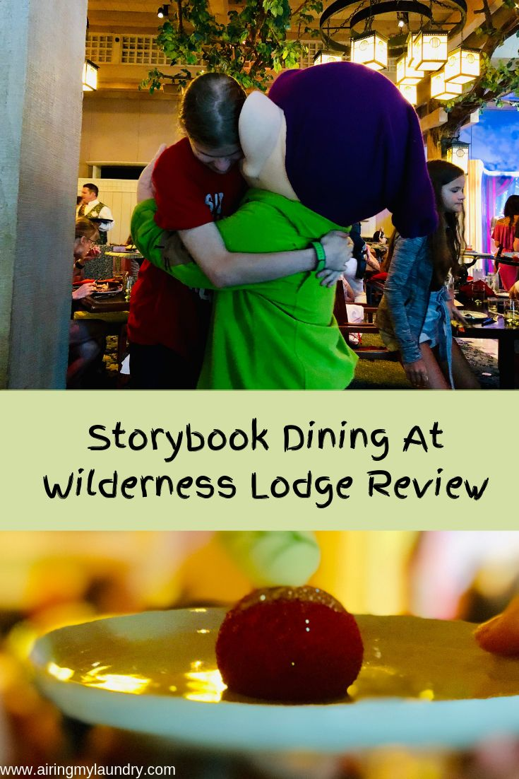 Storybook Dining At Wilderness Lodge Review Disney