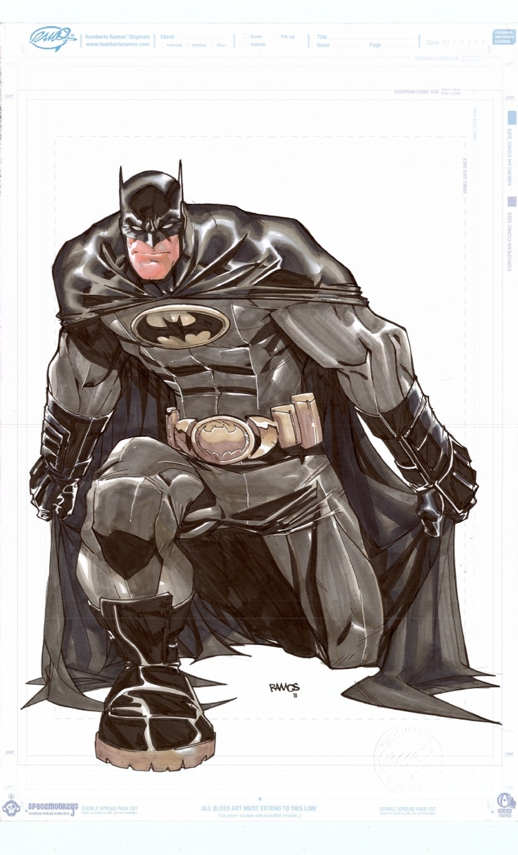 Batman by Humberto Ramos