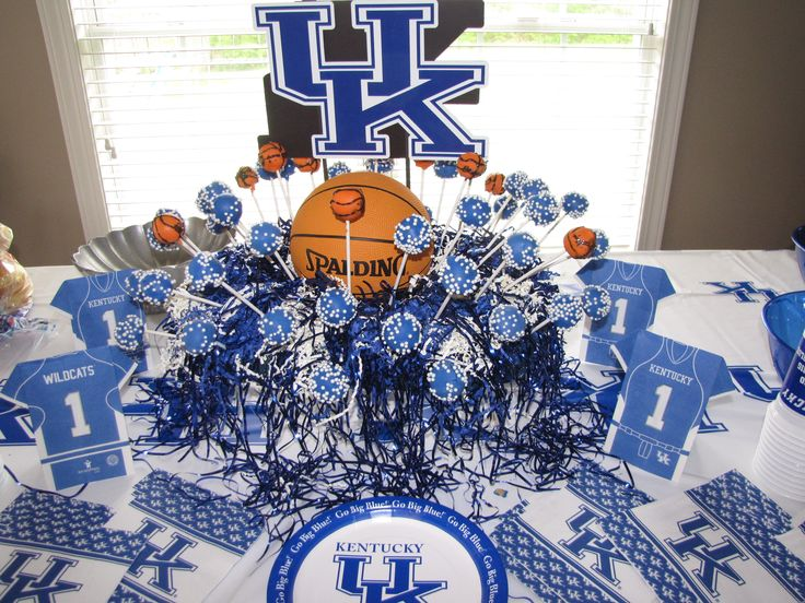 Kentucky Wildcat Party Go Cats Party Ideas Pinterest