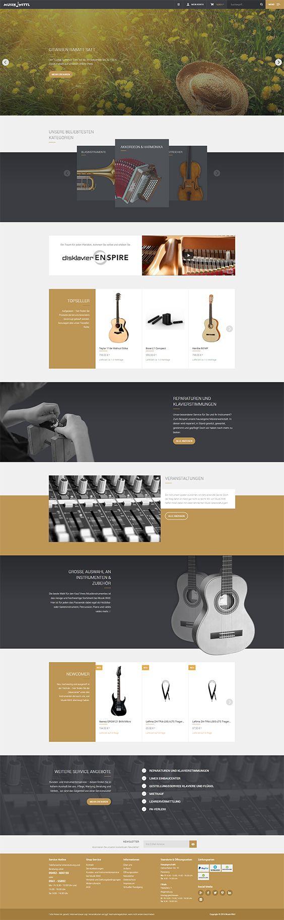 Shopware Design, Shopware Theme, Shopware Shop, eCommerce, eCommerce Software, eCommerce platform, Onlineshop, music instruments, hobby, music, guitars, trompets, pianos, saxophones, wind instruments