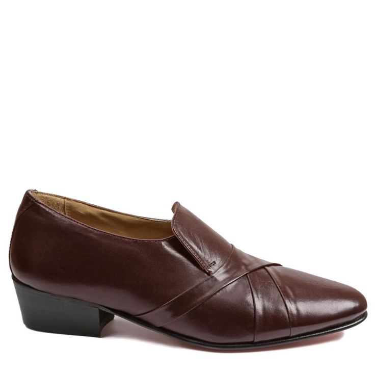 Giorgio Brutini Men's Bernard Medium/Wide Slip On Shoes (Wine) - 10.5 W