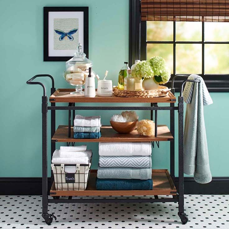 Better Homes and Gardens Rustic Country Bar Cart
