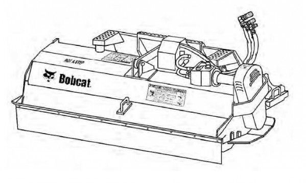 Bobcat FC175 Flail Cutter Service Repair Manual Europe