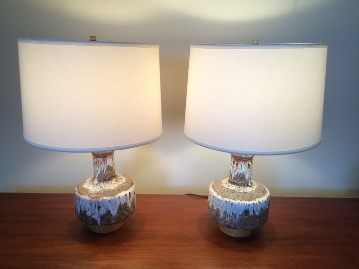 PAir of Maurice Chalvignac Lamp Bases (shades not included)