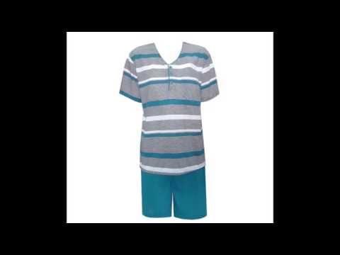 Ανδρικές πιτζάμες καλοκαιρινές