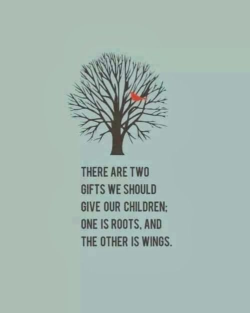 The wings become beautiful when the roots mattered. <3- Robbie
