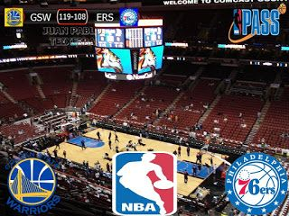 NBA 2016/17: Golden State Warriors 119-108 Philadelphia 76ers