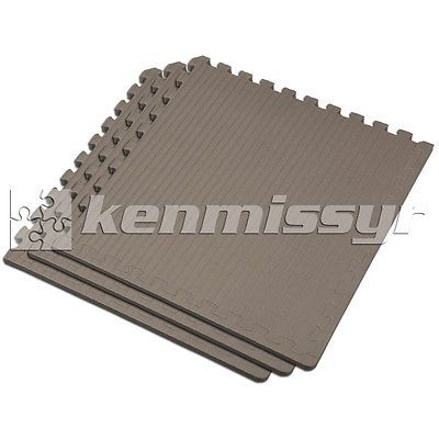 Floor Mats and Pads 179788: 192 Sf 3/4 Gray Interlocking Martial Arts Foam Floor Puzzle Tiles Mma Mats BUY IT NOW ONLY: $309.99