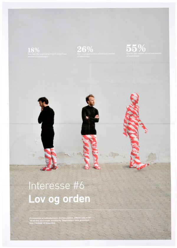 Information graphics in context by Peter Ørntoft, via Behance