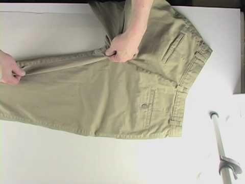 Cómo sacar un patrón de tus pantalones favoritos