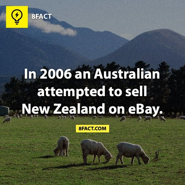 Oh my word! That's kind of funny. But sad because I live in New Zealand