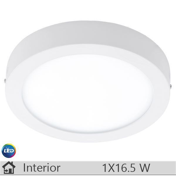 Plafoniera LED iluminat decorativ interior Eglo, gama Fueva, model 94075 http://www.etbm.ro/eglo