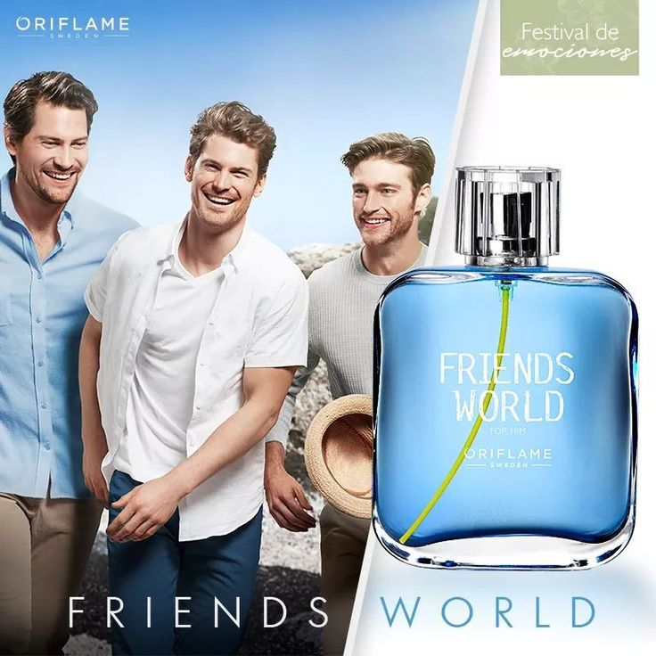 Friends World for Him by Oriflame Cosmetics ❤MB