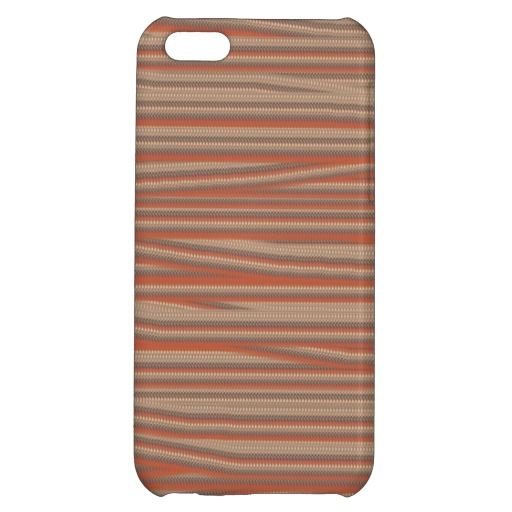 Strangely ugly pattern iPhone 5C case