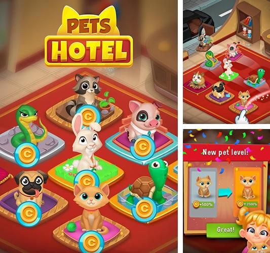 Pets hotel: Idle management and incremental clicker Hack is