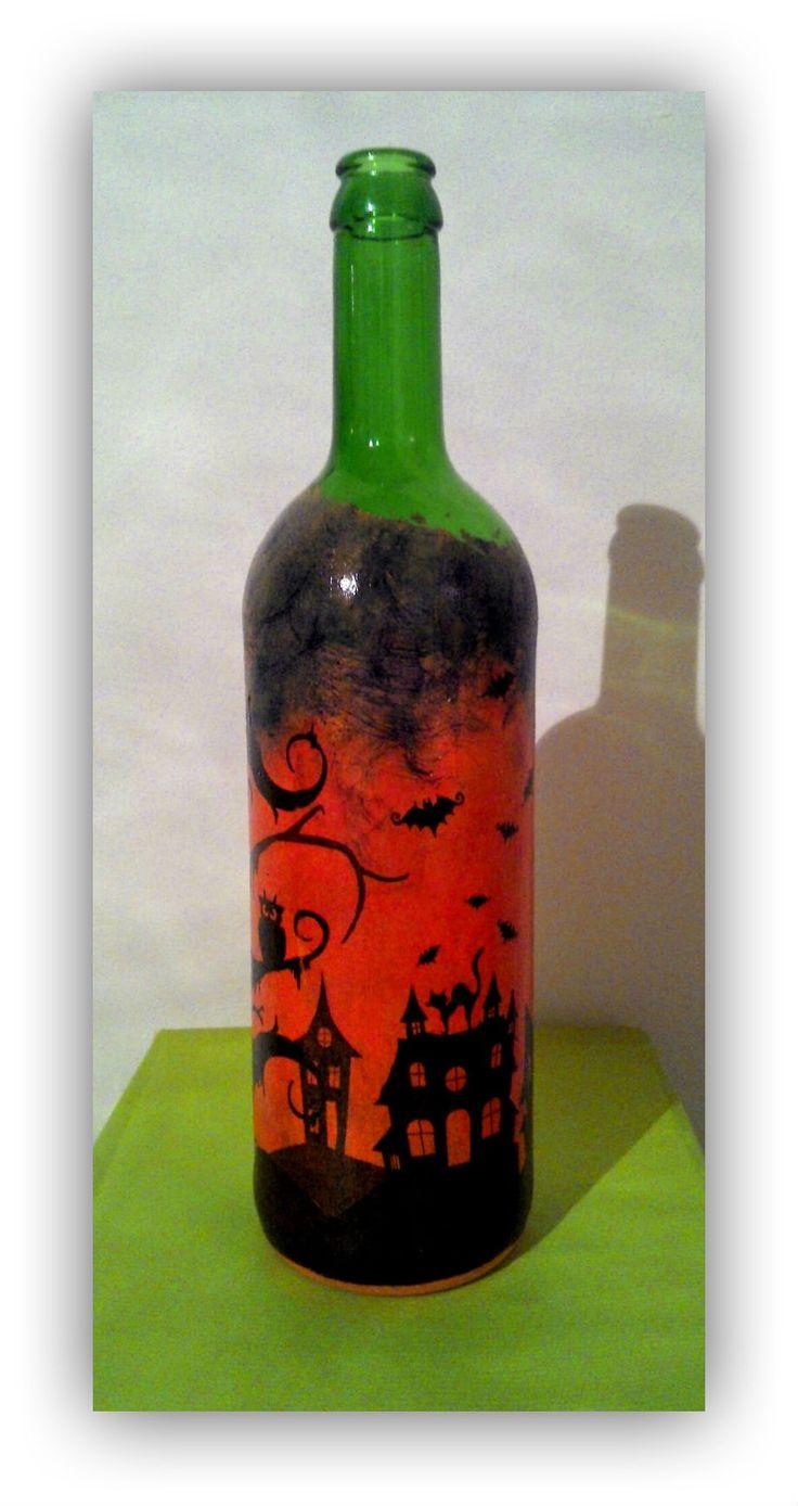 Halloween Bottle