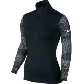 Nike Women's Pro Hyperwarm Nordic Long Sleeve Half Zip Compression Shirt - Dick's Sporting Goods