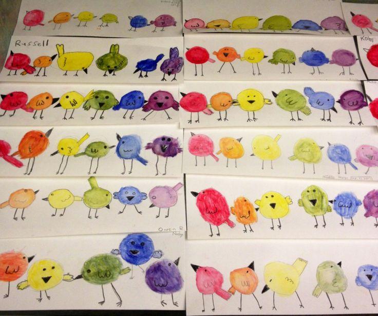 Art Teacher in LA   K-6th grade Art Lessons www.ViridianArtAcademy.com Color Theory Lesson