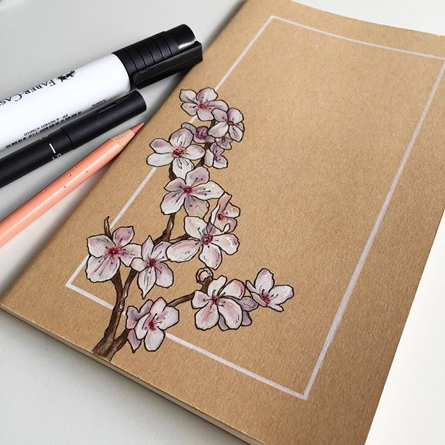 Between studying and commission work it was nice t… – #cherryblossom #Commissi… – Kochen