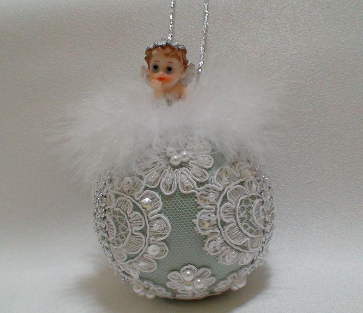 Baby's First Christmas by ShabbyChicXmas on Etsy